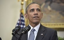 "President Barack Obama said it was time to ""close the chapter"" on Guantanamo Bay."