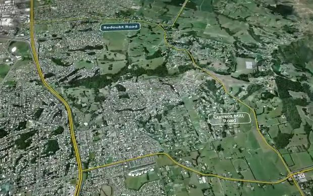 Redoubt Road - Mill Road Corridor Project. Auckland Transport video.