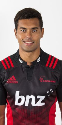 Ben Volavola is among a strong Fijian presence at the Crusaders.