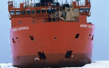 The Aurora Australis in Antarctica in 2003.