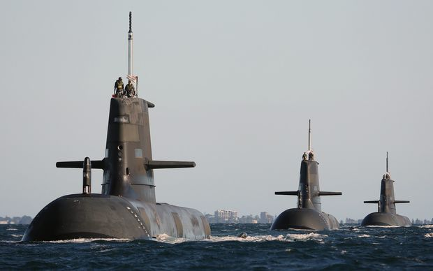 The White Paper includes an order for 12 new submarines.