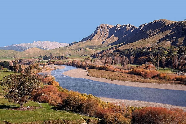 Tukituki River, Hawke's Bay, New Zealand