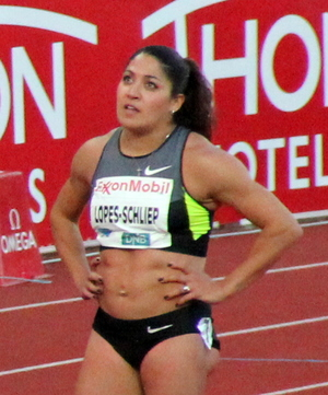 Priscilla Lopes-Schliep at the 2012 Bislett Games