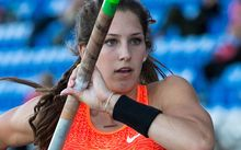 Polevaulter Eliza McCartney