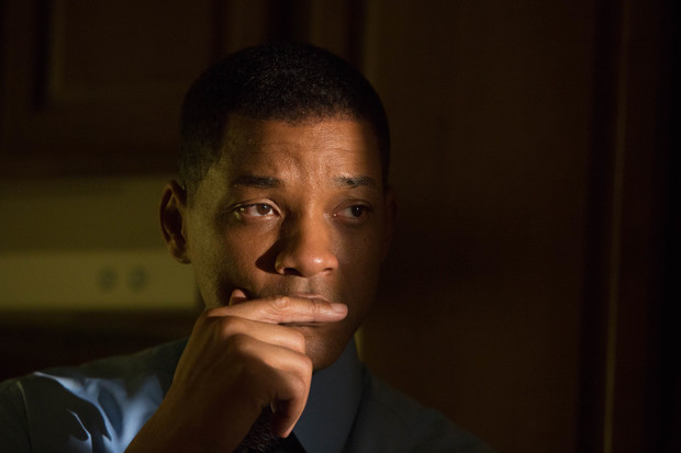 Will Smith as Dr. Bennet Omalu in Peter Landesman's Concussion