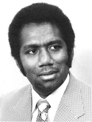The first Prime Minister of Solomon Islands, Peter Kenilorea.