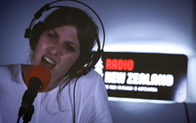Aldous Harding in Christchurch for NZ Live.