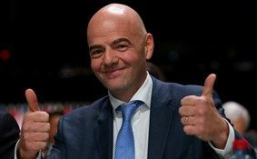 New Fifa boss Gianni Infantino