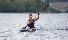 New Zealand Kayaker Lisa Carrington.