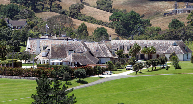 Kim dotcom auckland mansion sells radio new zealand news for New zealand mansions for sale