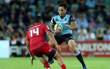 Zac Guildford playing for the NSW Waratahs.