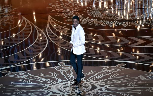 Host Chris Rock at the 2016 Oscars