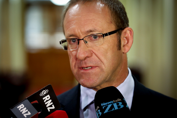Andrew Little during caucus run 1.03.16