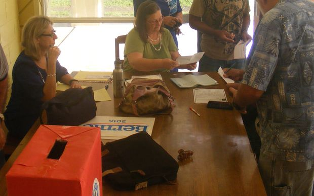 American Samoa Democratic Party registration began at 8am for the local Party caucus to elect a candidate for the US Presidential Race.