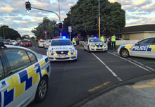 Police in Papatoetoe after a bound and gagged woman escaped from the boot of a moving car.