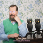 Cover of the album Grey Tickles Black Pressure by John Grant