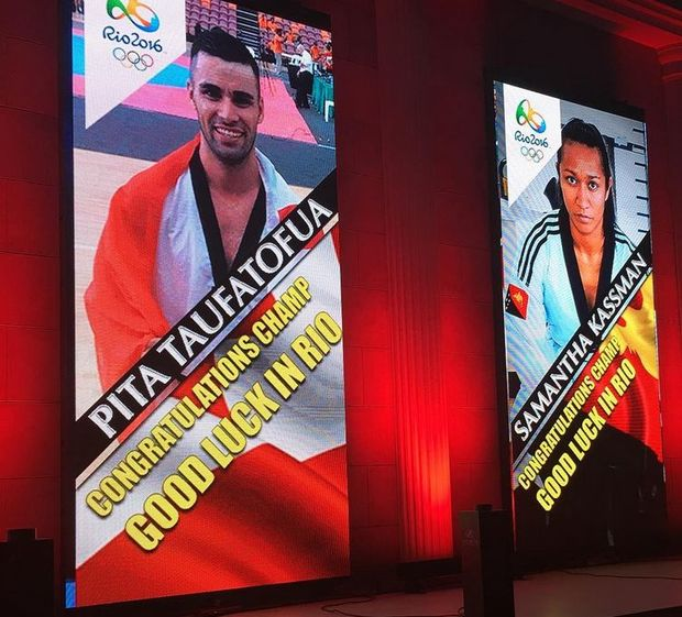 Tonga's Pita Taufatofua and Papua New Guinea's Samantha Kassman both qualified for the Rio Olympics at the weekend.