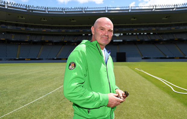 Martin Crowe at Eden Park in January 2015.