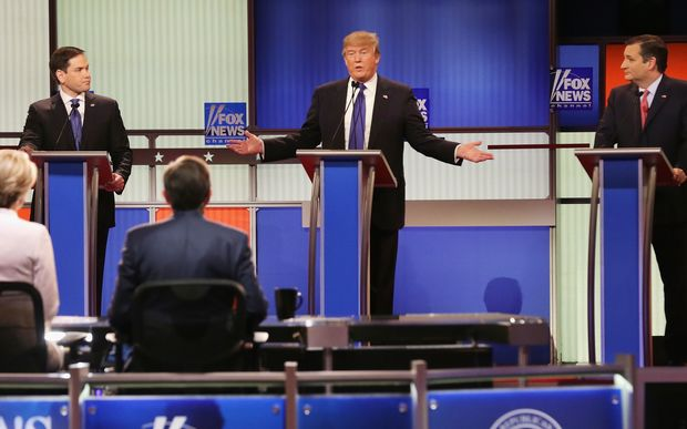 Donald Trump took centre stage at the most recent debate among Republicans looking to become the candidate for US President