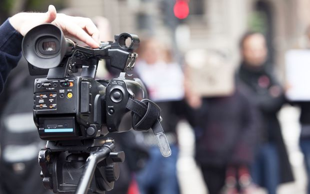 video, camera, news, television, reporter