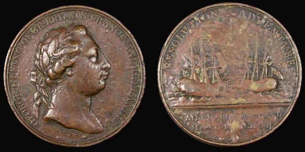 The Resolution Medal was given to Maori by Captain James Cook in 1772.