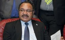 PNG's Prime Minister, Peter O'Neill