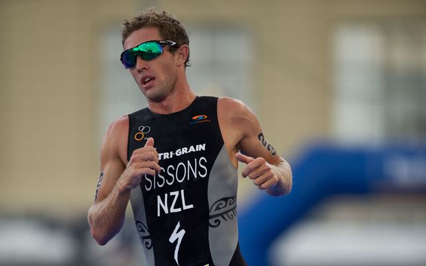 New Zealand triathlete Ryan Sissons.