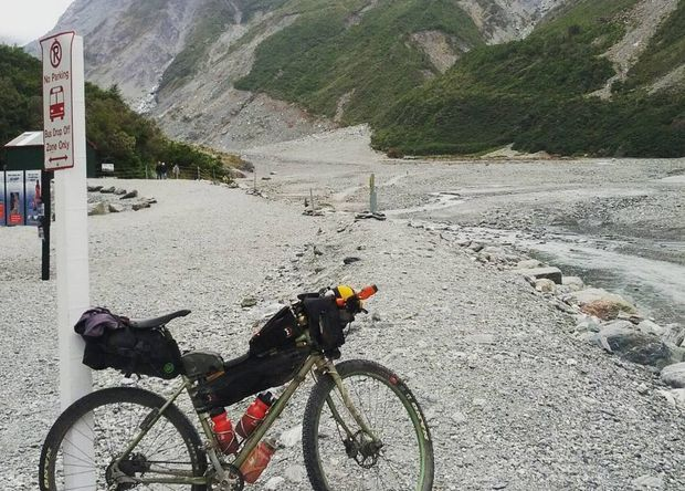 Mr Dann just completed Tour Aotearoa, a bike tour that travels the full length of New Zealand.