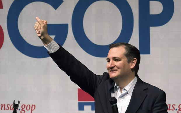 "Ted Cruz has talked about ""a real shift in momentum""."