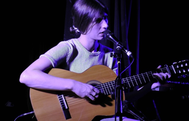 Aldous Harding live at Whammy Bar