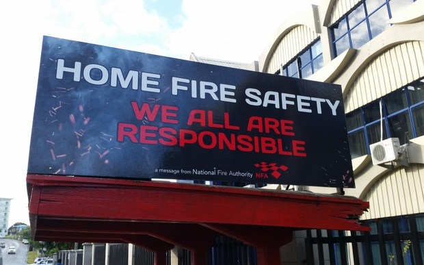 Fire safety Fiji