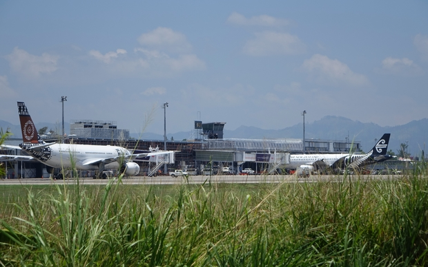 Fiji Airways and Air New Zealand at Nadi International Airport