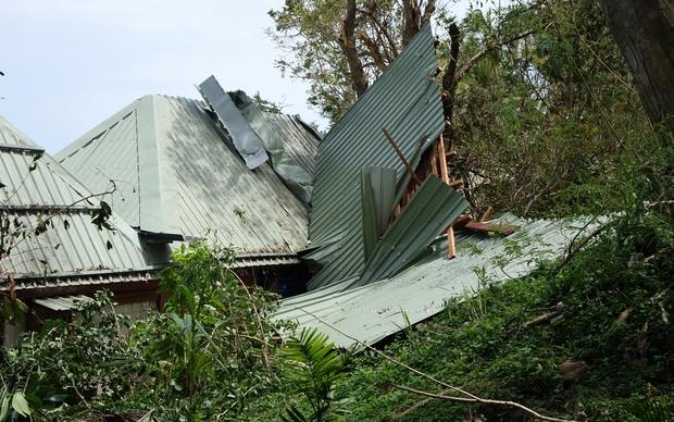 Yasawa Island Resort Cyclone Damage