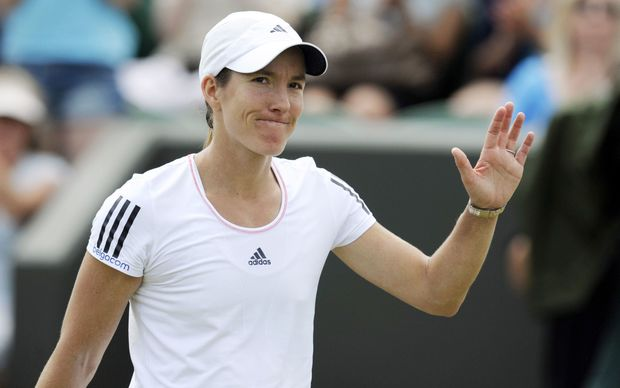 Belgium tennis player Justine Henin.