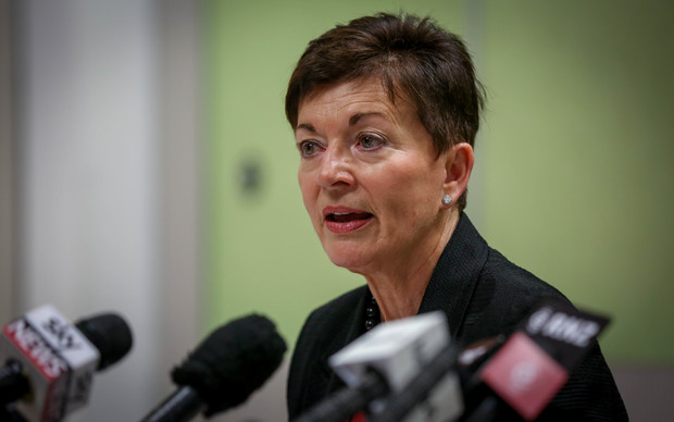 Dame Patsy Reddy at the report of the first independent review of intelligence and security in New Zealand.