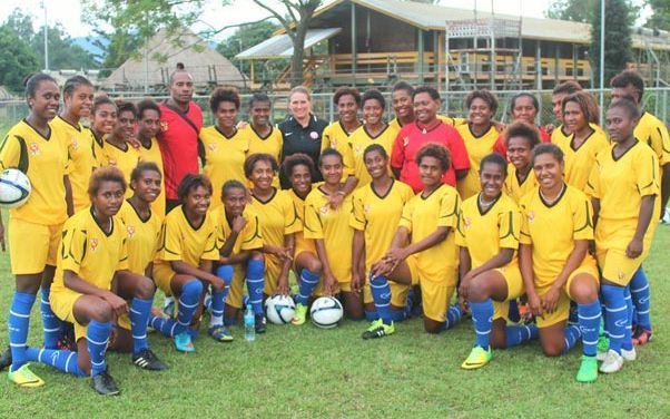 Papua New Guinea is hosting the FIFA Under 20 Women's World Cup.