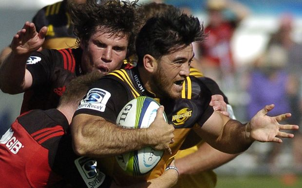 Winger Nehe Milner-Skidder returns to the Hurricanes starting lineup to play the Blues.