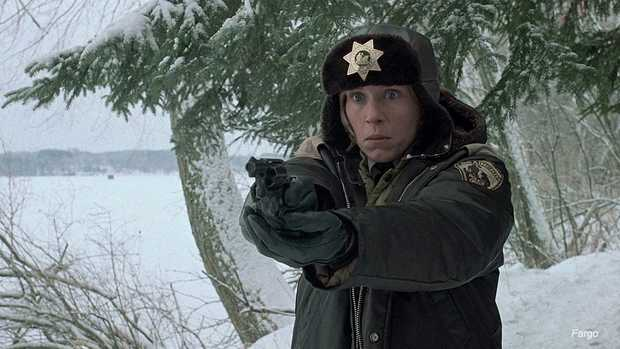 Frances McDormand as Marge Gunderson in the Coen Brothers' Fargo