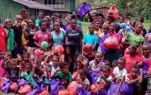 Hearts of Hope, 2015 Orphans Christmas in Malaita Province Solomon Islands.