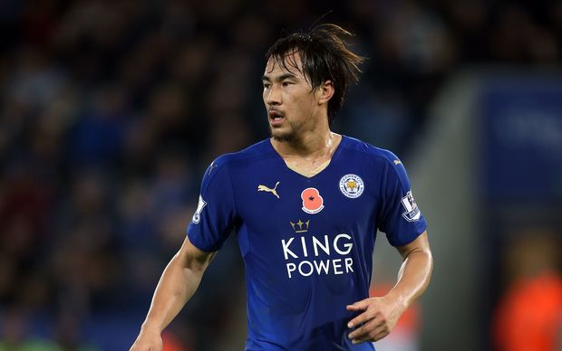 Leicester City football player Shinji Okazaki.