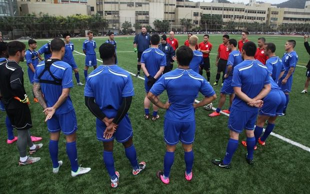 Guam training in Chinese Taipei.