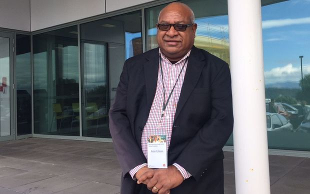 Papua New Guinea diplomat Peter Eafeare.