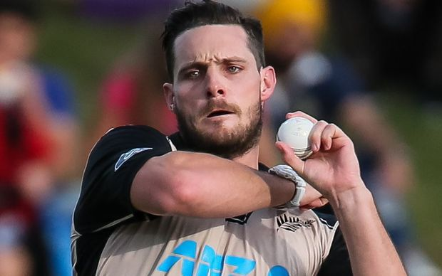 Pace bowler Mitchell McClenaghan was named man of the match.