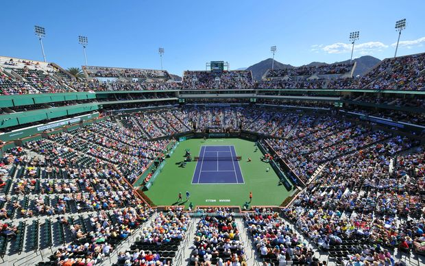 Indian Wells Tennis Centre.