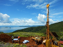 Axiom drilling activity on Isabel Nickel Project.