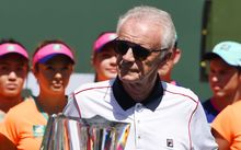Raymond Moore has quit as tournament director of the BNP Paribas Open. Also known as the Indian Wells tournament. Sparked controversy for saying women should get on their knees and thank men like Rafael Nadal and Roger Federer for getting the game to where it is.