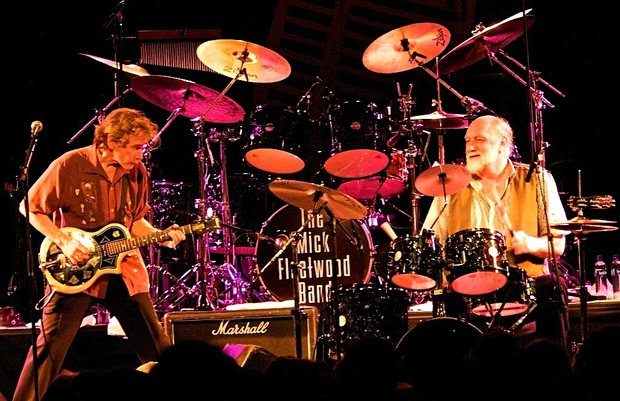 Mick Fleetwood Blues Band featuring guitarist Rick Vito and Mick Fleetwood