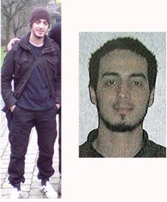 Two pictures of Najim Laachraoui, 25 years old, This undated file photo was released on 21 March 21, 2016 by the federal police.