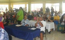 A look at some of the more than 150 people who attended yesterday Republican Party of American Samoa caucus.