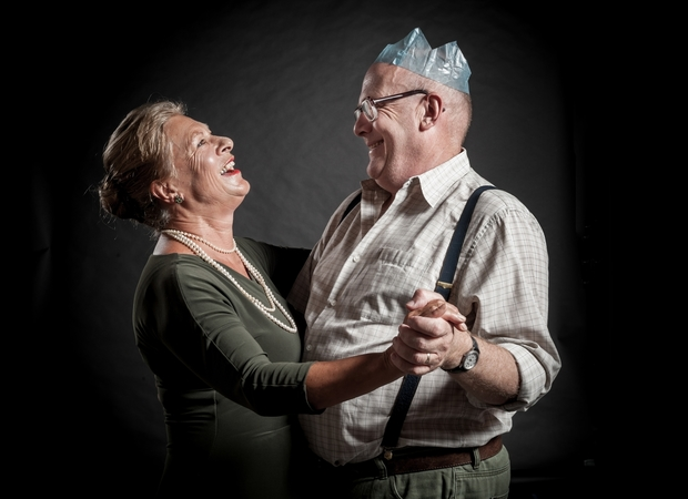 Cathy Downes and Peter Hambleton in Joyful and Triumphant by Robert Lord